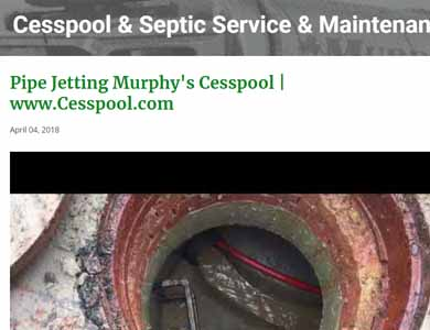 NYSeptic.com High Pressure Water Jetting Services Blog photo
